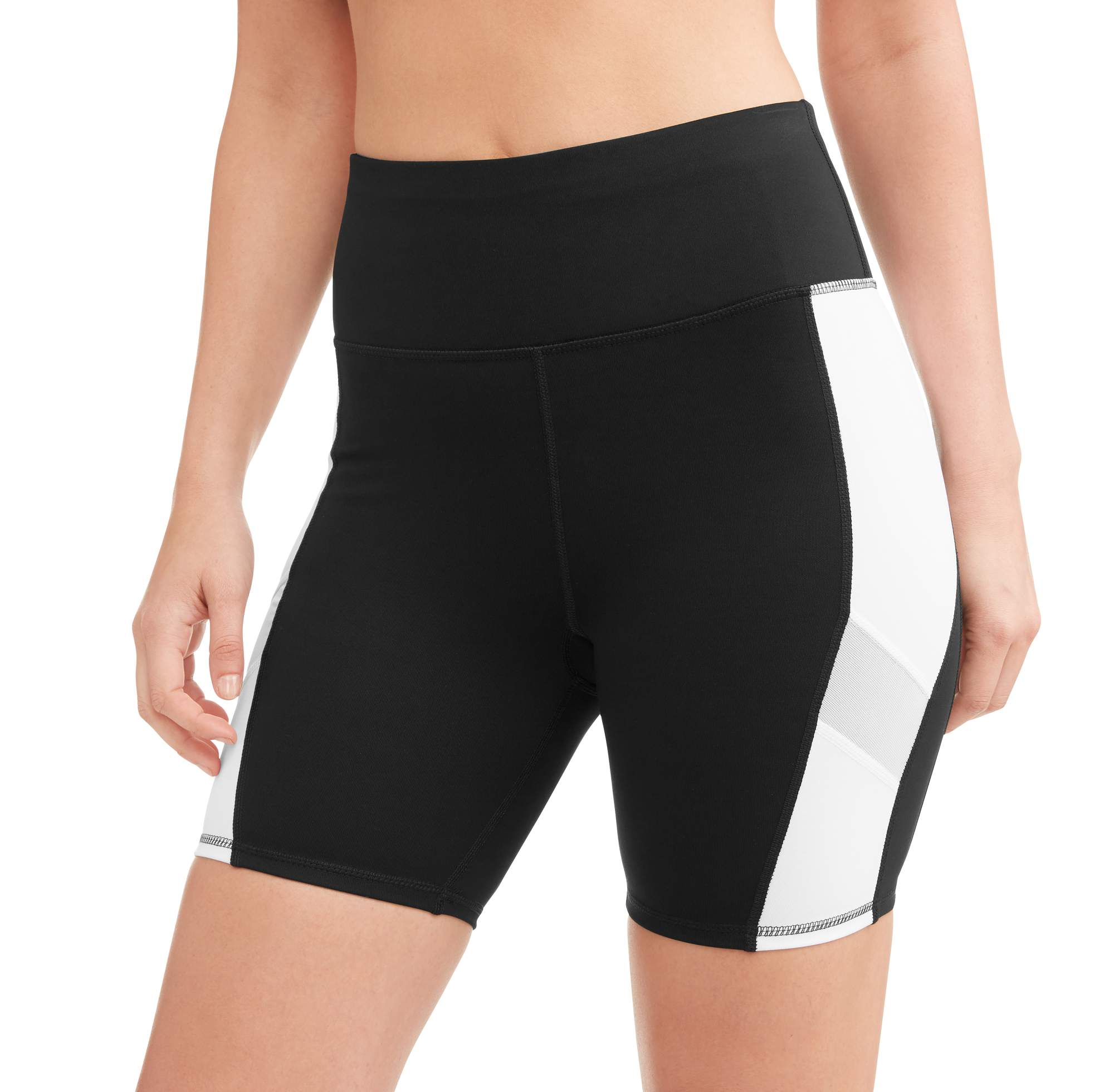 Avia Women's Core Flex Tech Compression Bike Short with Media Pocket
