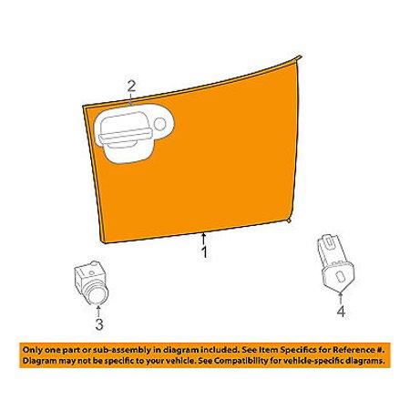 CHRYSLER OEM-Dash Glove Compartment Box Door 1YW76DX9AB Glove Compartment Door
