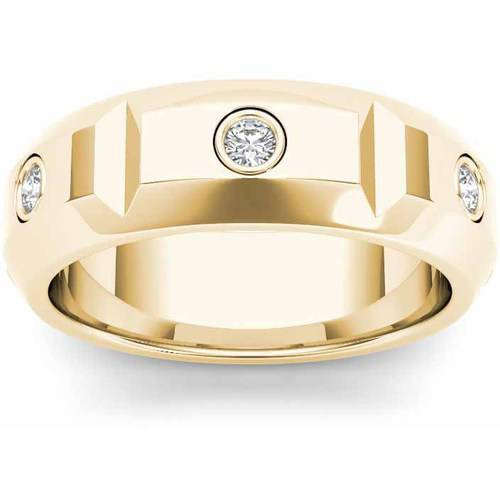 Imperial 1/4 Carat T.W. Diamond Men's 14kt Yellow Gold Wedding Band