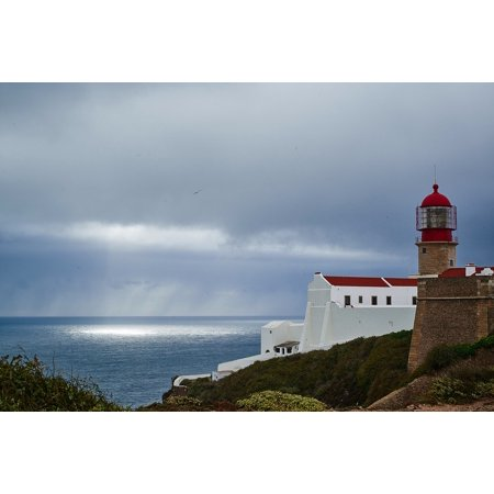LAMINATED POSTER Beacons Light Sun Lighthouse Sunburst Sea Poster Print 24 x 36