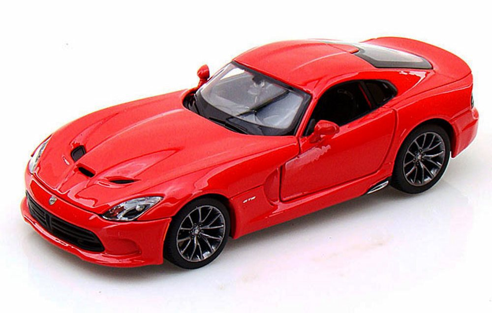 2013 Dodge SRT Viper GTS, Red Maisto 31271 1 24 scale diecast model car by Maisto