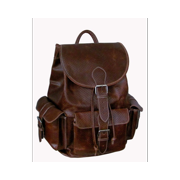 Vacationer Jumbo Leather Backpack