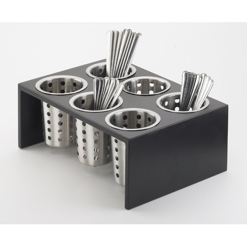 Cal-Mil 6 Compartment Utensil/Condiment Stand