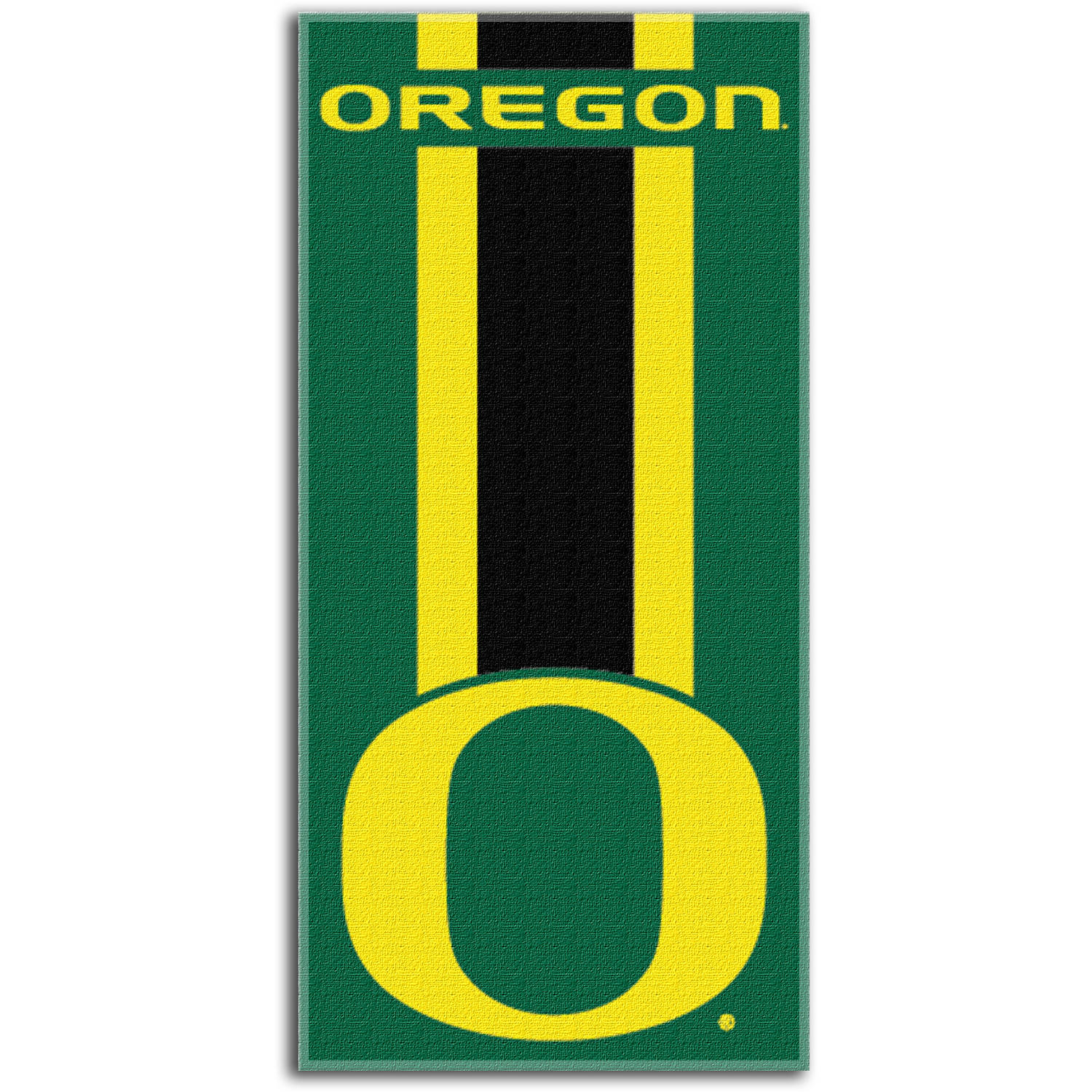 "NCAA Oregon Ducks ""Zone Read"" 30"" x 60"" Beach Towel"