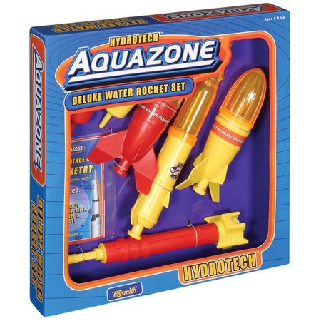 Toysmith Deluxe Water Rocket Set