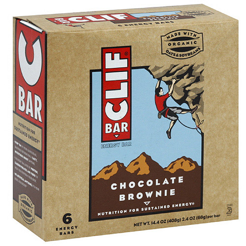 Clif Bar Chocolate Brownie Energy Bar, 6ct (Pack of 6)