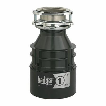 InSinkerator Badger 1 1/3 HP Continuous Feed Garbage (Best Insinkerator Garbage Disposal)