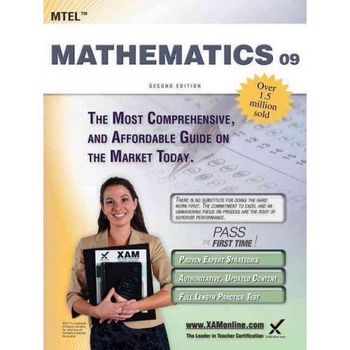 MTEL 09 Mathematics Teacher Certification Exam