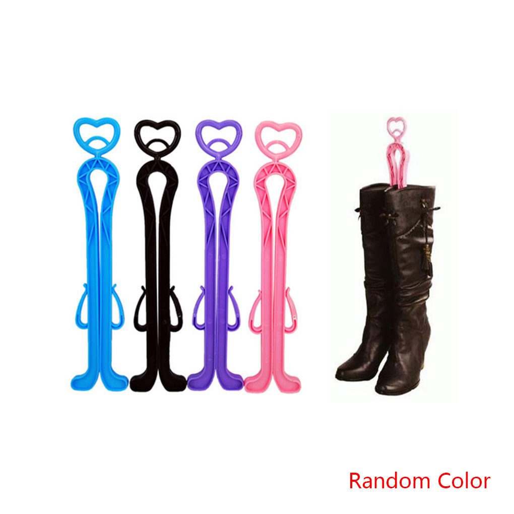 2Pack Heart Shoe Rack Long Boots Stays Folder Storage Boots Stand Holder Shoe Trees Organizer