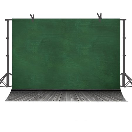 EREHome Polyester Fabric Photo Background 7x5ft Green Wall and Wood Floor Photography Backdrop Studio Props - image 2 of 2