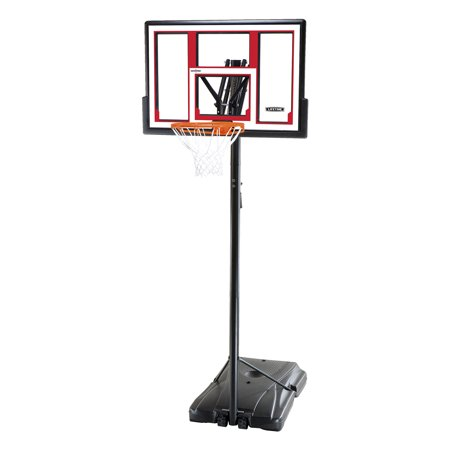 "Lifetime 48"" Adjustable Portable Basketball Hoop, 90491"