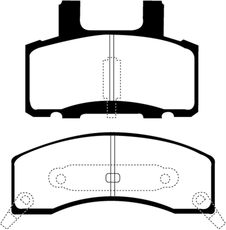 Ebc 90 93 Chevrolet C20 8600 Lb Yellowstuff Front Brake Pads