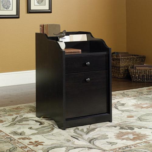 Sauder Edge Water File Cabinet, Estate Black