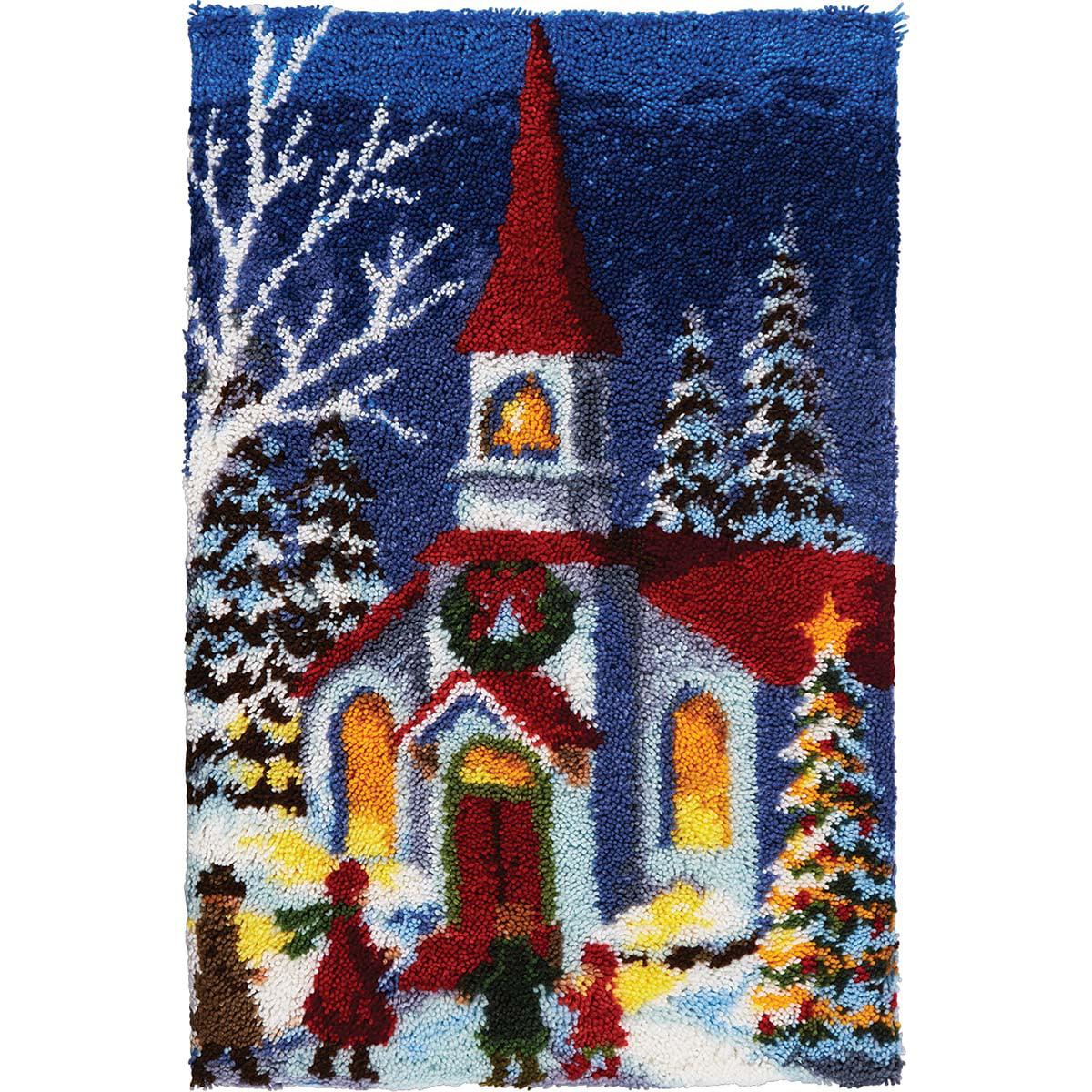 Herrschners® Holiday Church Latch Hook Kit