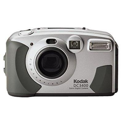 kodak dc3400 2mp digital camera with 2x optical zoom