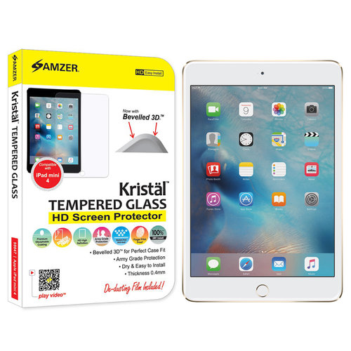 Amzer Kristal Tempered Glass HD Screen Protector