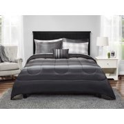 Mainstays Grey Ombre Bed in a Bag Bedding Set