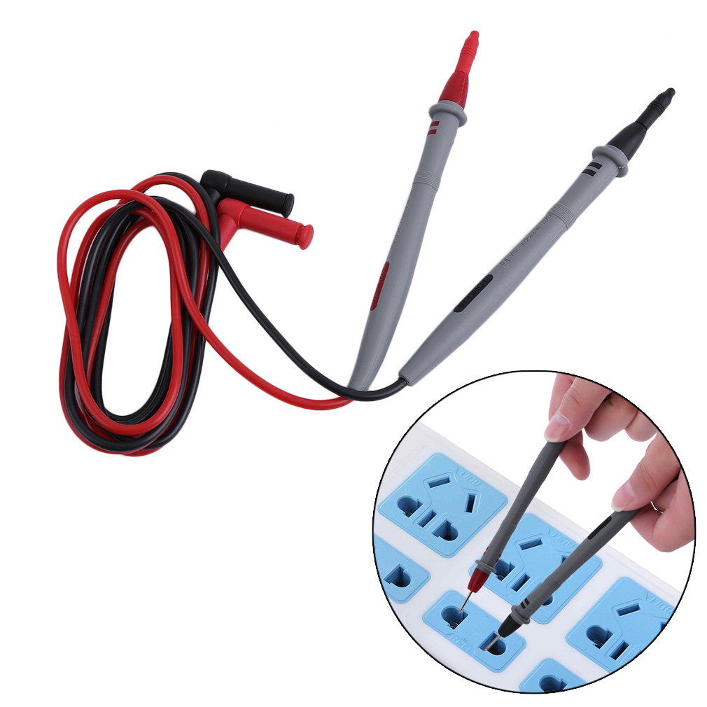 Needle Tip Test Lead Multimeter Probes Wire Pen For Digital Multimeter Tool
