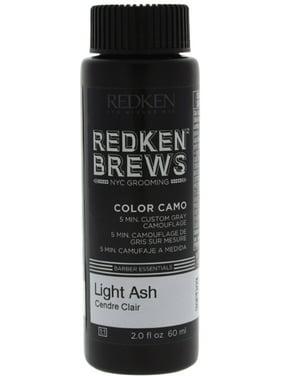 Redken Brews 5 Min. Color Camo Hair Color, Light Ash 2 oz