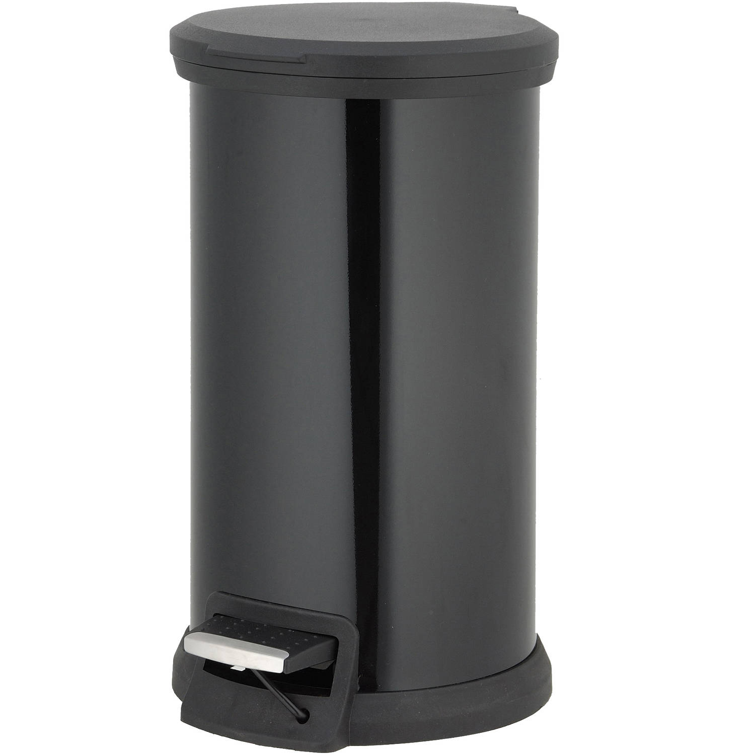 better homes and gardens 12 liter round step trash can walmart