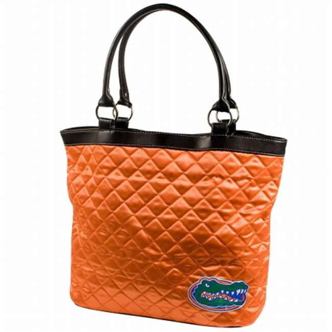 Little Earth LTL-150101-UFLA-ORNGX-1 Florida Gators NCAA Quilted Tote Bag