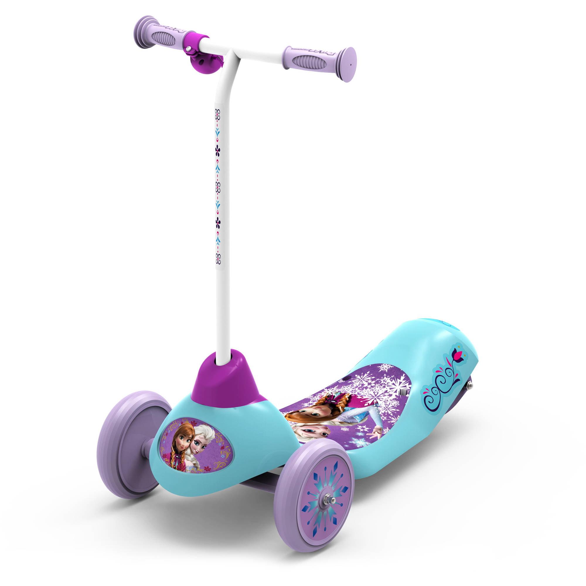 Disney Frozen Safe Start 3-Wheel Electric Scooter by
