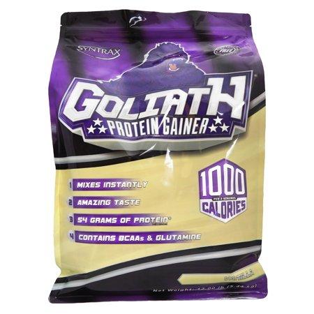 Syntrax Goliath vanille, de protéines de qualité supérieure Gainer, 12lbs