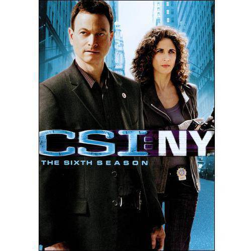 CSI NY-6TH SEASON (DVD/WS/7 DISCS)