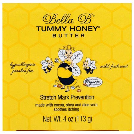 Bella B - Tummy Honey Stretch Mark Prevention Butter, 4 oz.