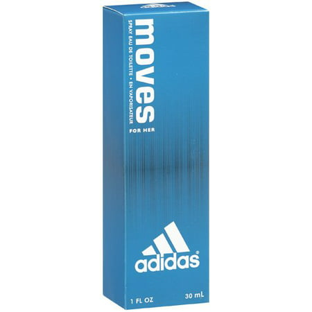 Adidas Moves for Women by Adidas, Eau de Toilette Spray, 1 fl oz (Adidas Sonnenbrille Radfahren)