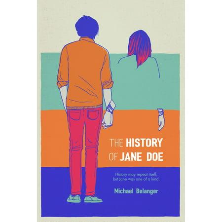 The History of Jane Doe - eBook