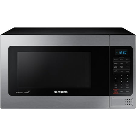 Samsung 1.1 cu. ft. Counter Top Microwave - Stainless Steel
