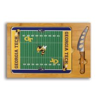 Georgia Tech Yellow Jackets Icon Cutting Board and Cheese Knife - No Size