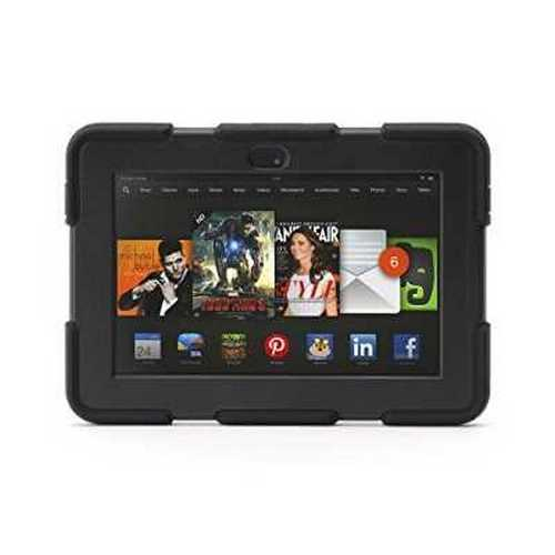 "Griffin Black/Black Survivor All-Terrain for Kindle Fire HDX 7"" (2013 Model), Military-Duty Case for Kindle Fire HDX 7"" (2013)"