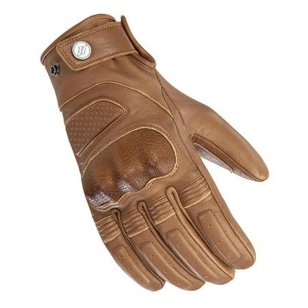 Joe Rocket Waterproof Gloves (Joe Rocket Woodbridge Mens Leather Gloves Tan )