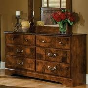 Standard Furniture San Miguel 58 Inch Dresser in Lafayette Oak