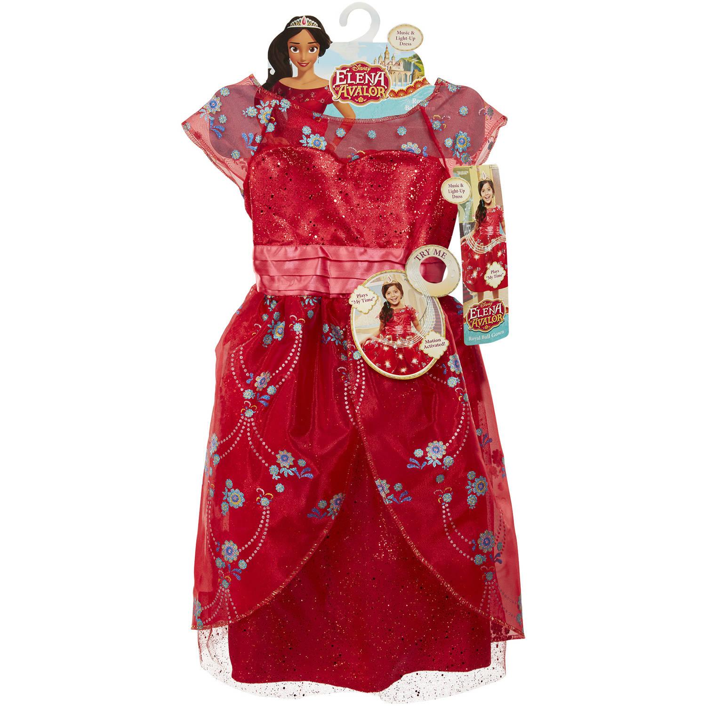 Disney Princess Elena of Avalor Royal Ball Gown - Walmart.com