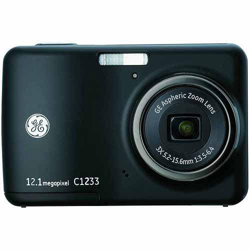 12 MP Digital Camera in Black