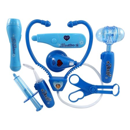 8bf1f60b16 Doctor Nurse Blue Medical Kit Playset for Kids - Pretend Play Tools Toy Set  By Liberty Imports - Walmart.com