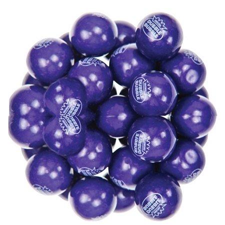 Dubble Bubble Grape Purple One Inch Gumballs, (Pack of 850) (Purple Gum)