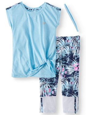 5a1a93e86bce Product Image Shoulder Stripe Top and Tropical Performance Legging
