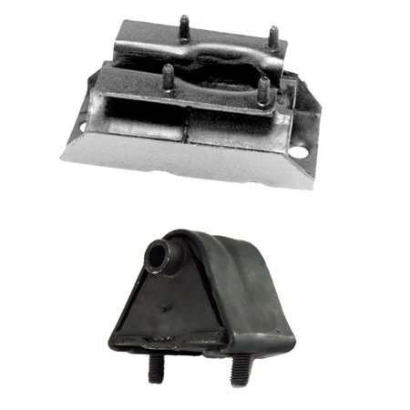 CF Advance For 86-90 Jeep Comanche Pioneer Custom XLS Wagoneer 2.5L RWD Engine Motor and Transmission Mount Set 2pcs 1986 1987 1988 1989 1990 2571 2625