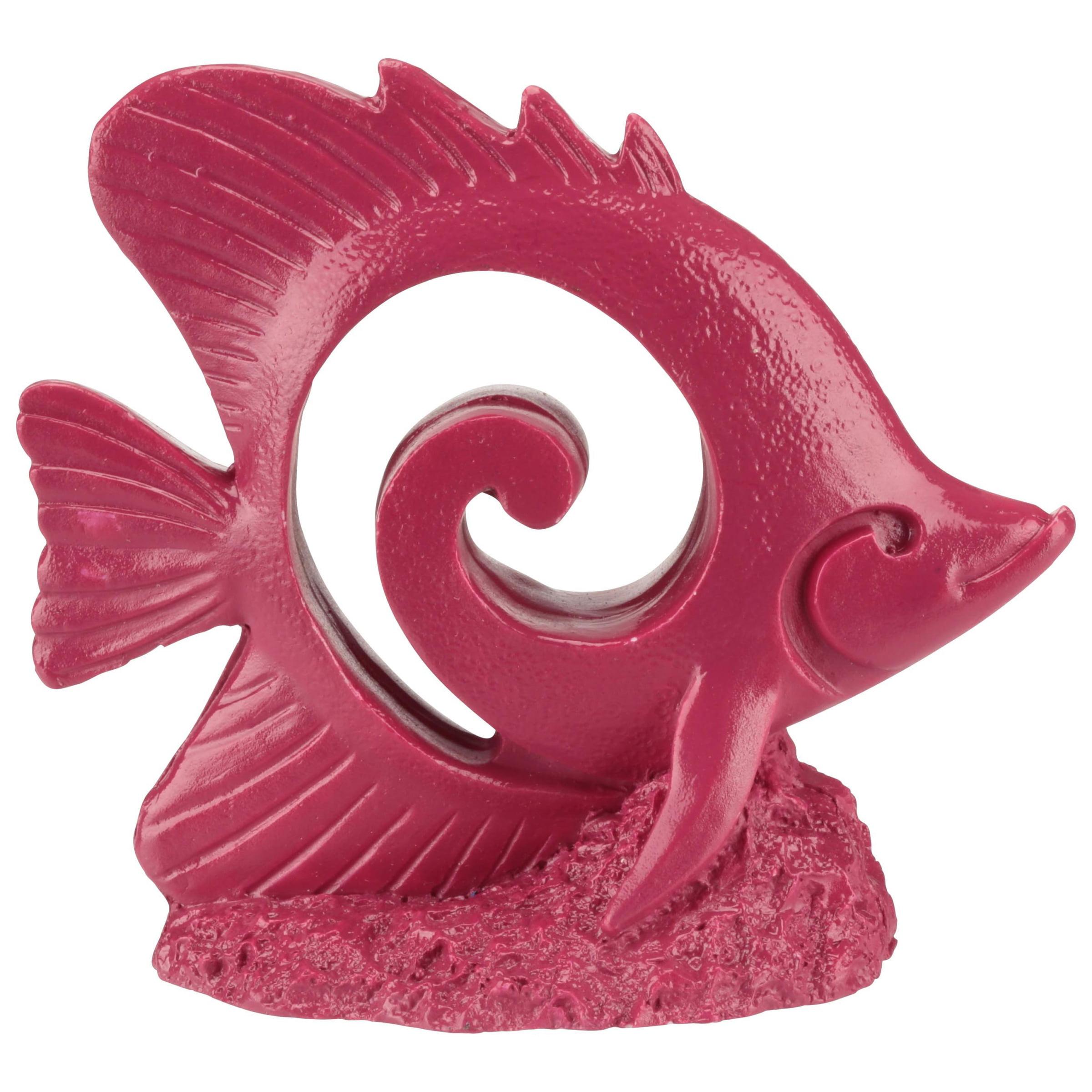 (2 Pack) Aqua Culture Neon Fish Aquarium Ornament