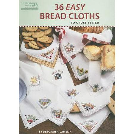 36 Easy Bread Cloths to Cross Stitch ()