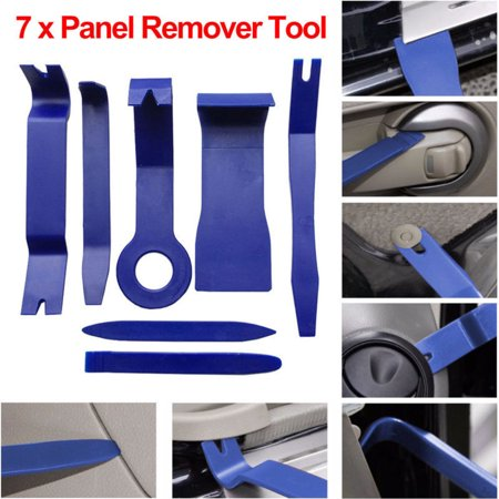 (7 x Car Trim Door Panel Dash Centre Console Remover Removal Kit Tool Set Pry)