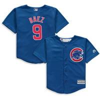 Javier Baez Chicago Cubs Majestic Toddler Alternate Official Cool Base Player Jersey - Royal