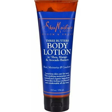 2 Pack - Shea Moisture Three Butters Body Lotion 8 oz
