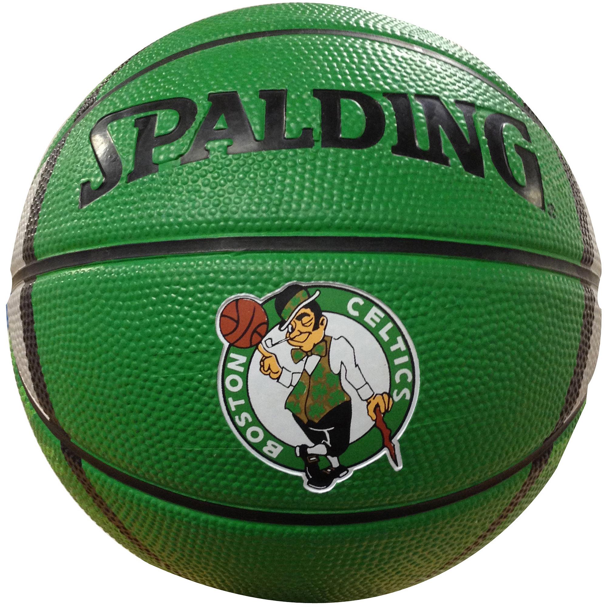 "Spalding NBA 7"" Mini Basketball, Boston Celtics"
