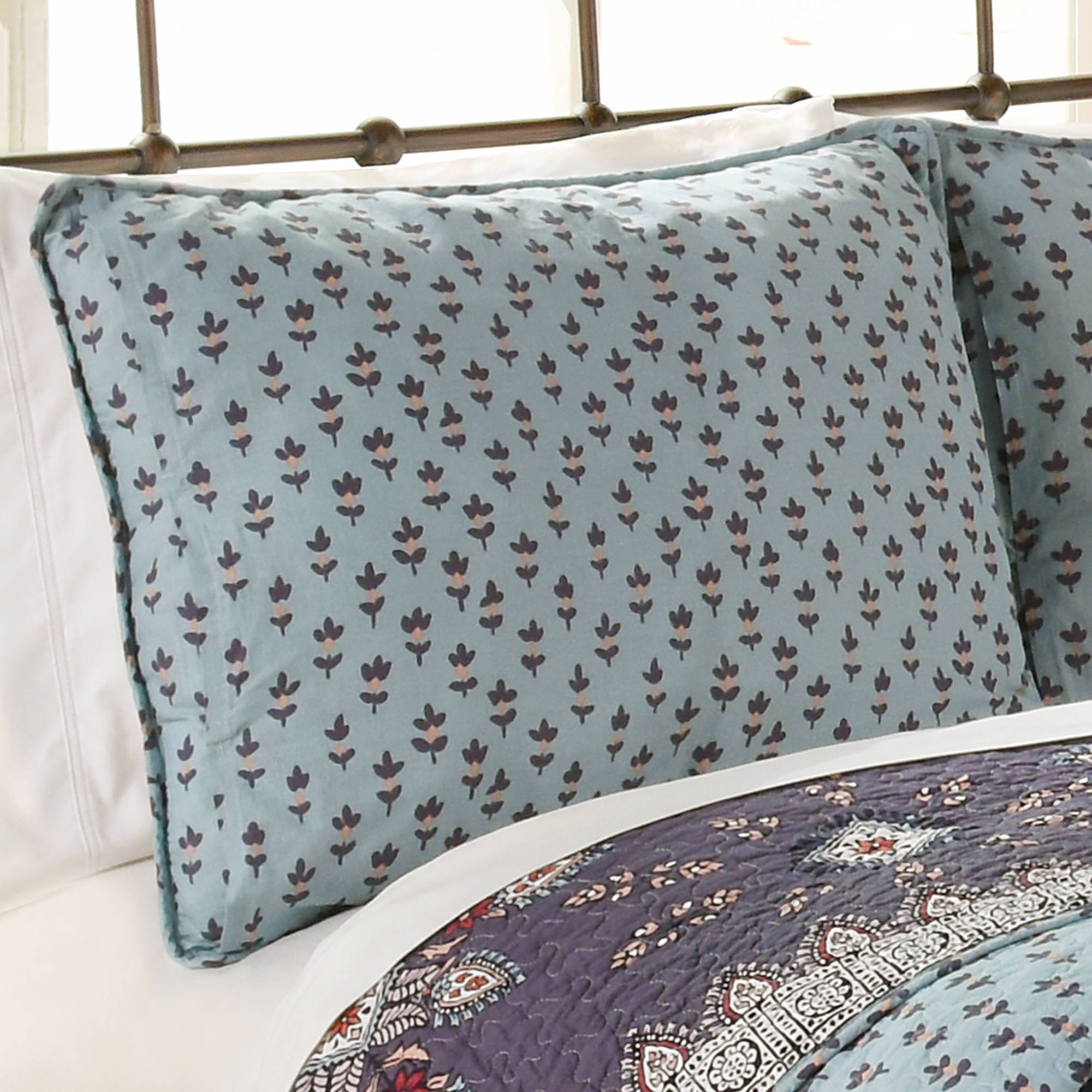 Better Homes and Gardens Moroccan Quilt, Jewel by Ellery Homestyles