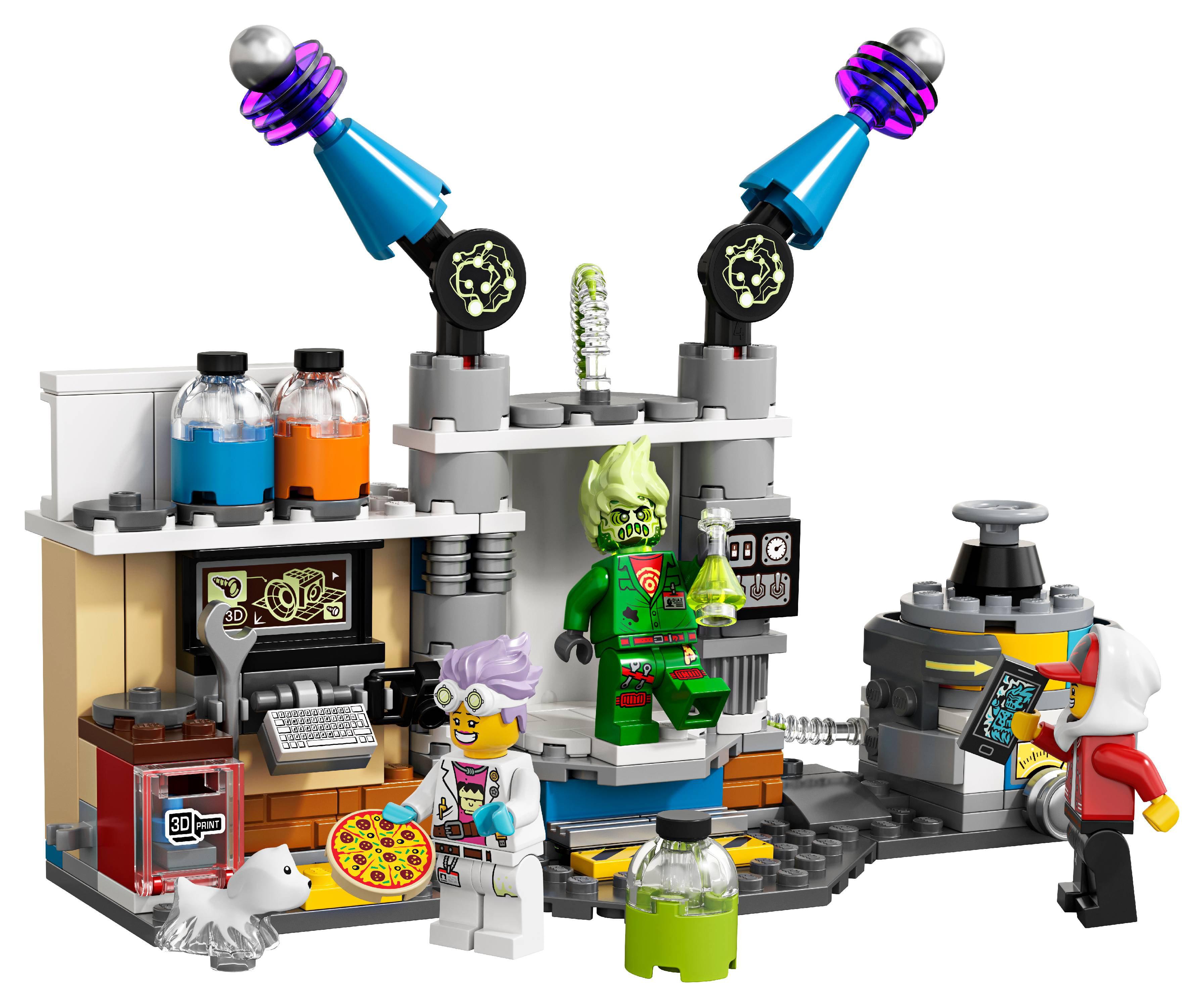 Lego Hidden Side Augmented Reality Ar J B S Ghost Lab 70418 174 Pieces Walmart Com Walmart Com